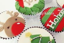 Christmas Cupcakes♥