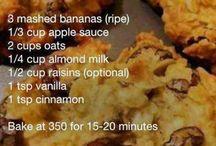 (Healthy) snacks & food
