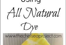 All natural tie-dye