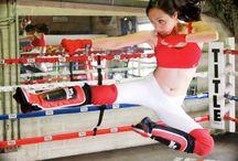 Model Actress Jennifer Linch, MMA shoot for Silhouette of a Memoir Magazine
