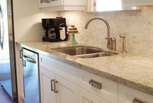 Clean White Kitchens / by Cathie Moros