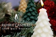 Stocking Stuffers - Beeswax Candles / Beeswax candles are always appreciated as stocking stuffers!