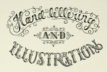 lettering. / by Kelly Revenaugh