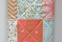 Baby quilts and patchwork