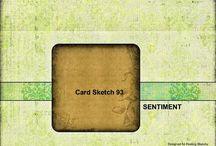 Feeling Sketchy Card Sketches