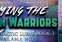 Release Tour & Giveaway for Taming the Alien Warriors by Rie Warren