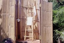 outdoor shower / by Brandi Brashears