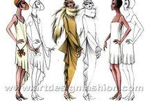old fashion style women