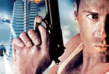 80's action movie posters