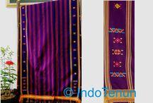 Tenun Indonesia / Traditional woven or tenun ikat