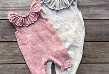 Baby strikk