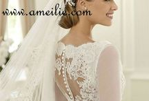 Wedding dresses & ideas ! Not that I need any. / Mostly beautiful wedding dresses I love that I've been saving as I come across and wedding ideas that maybe one day I will need haha such as hairstyle inspirations or colour themes for a wedding reception <3 / by Danielle C