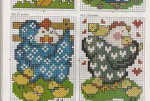 uilen en vogels / patroontjes