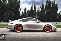 Porsche Custom Wheel Fitment / COR International Custom Fitment Forged Wheels on Porsche's