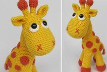 žirafa Crochet patterns