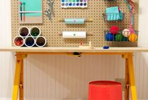 Home DIY/decor - Craft room/office / by Amber Whitmore