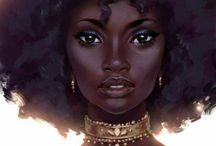 ilustração negra