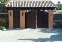 Ворота-калитка