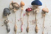 Doll - mushroom