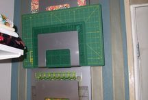 sewing room storage ideas
