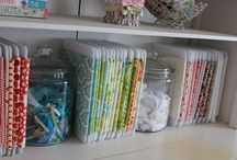 Craft Storage - Fabrics / Craft Storage Ideas (CSI) shares information, inspiration & products for crafting supply storage and organization. This board includes ideas for storing fabrics in your sewing room, craft room or art studio, or when sewing or crafting on the go! Got great solutions for organizing and storing fabrics? Pin them & include #craftstorageideasblog and we might just show them off to our community of passionate crafters! / by www.CraftStorageIdeas.com