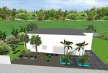 Diseños jardín / Diseños de jardinería realizado por Viveros González