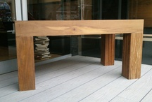 Increíble  mesa de ipe. / Mesa de Ipe Brasileño echa por nosotros, la vendemos por tan solo 300 euros.