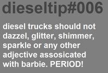 diesel tips / by Brianna Holder