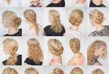 Cachos e penteados