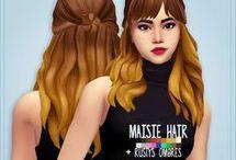 Ts4 hair