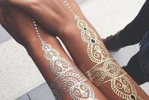 Henna on arms & Hands