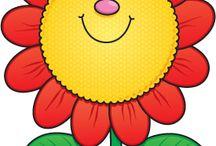 клипарт - цветочки