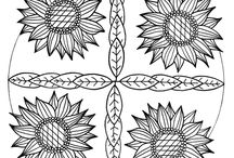 Adult Coloring Mandalas / A selection of FREE mandalas to download and color