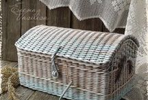 Плетушки / плетение из газет