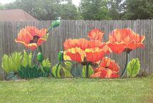 Fences Decorated