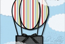 (AT) Cards ~ Hot Air Balloon / The Sky's the limit !
