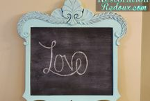 Crafts - Chalkboards, Paint, etc. / by Carol David