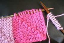 Mantas para bebe tricot