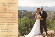 Weddings - Receptions- Special Events at Royal Gorge Bridge / Looking for a unique #Colorado #wedding venue? The spectacular views of the #RoyalGorgeBridge & Park offer a stunning and unforgettable backdrop for your special day.