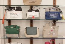 Le Pandorine Borse PE 2016 / Pon Pon Double Face, Reversible Bag, Pon Pon Medium Bag, Matrioska, bag cube, wallet bag e square bag.