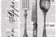 Cutlery label
