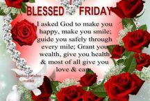 God Blessed Friday