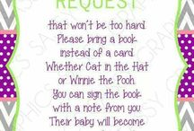 Baby shower ideas / by Stephanie Melton