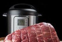 Food {pressure cooker}