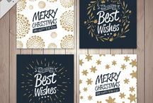 Christmas cards and printables