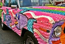 Art Cars! / Art Cars that I've seen or would like to see