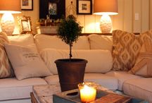 Living Room Ideas / by Amanda Wardwell