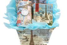 MIchel Design Works Gift Baskets by Dream Weaver