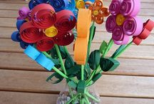 Kids Art - Quilling / The art of rolling thin paper strips into beautiful designs! / by Teach Kids Art