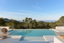 Ibiza Swimming Pools / A wide group of pools from our properties fro sale or rental in Ibiza